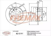 BD0191 FREMAX