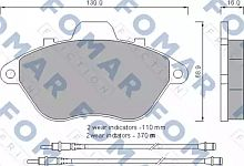 FO554581 FOMAR FRICTION