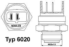 602095D WAHLER